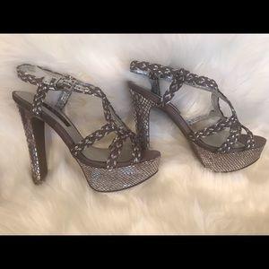 Nina Strappy Heeled Dress Sandals